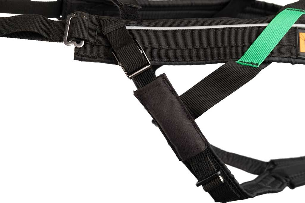 Non-Stop dogwear Zuggeschirr Freemotion Harness, Detail Baugurtverstellung