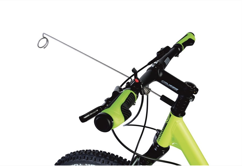 Crussis Bike-/Scooter Antenne Spacer montiert